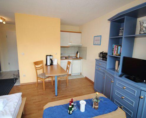 Rügen Villa Monika in Sassnitz Ferienwohnung 3 Küche