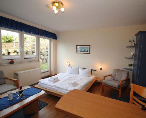 Rügen Villa Monika in Sassnitz Ferienwohnung 3 Doppelbett